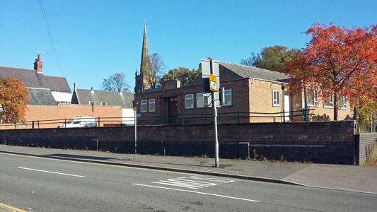 Whetstone Memorial Hall - view from the High Street