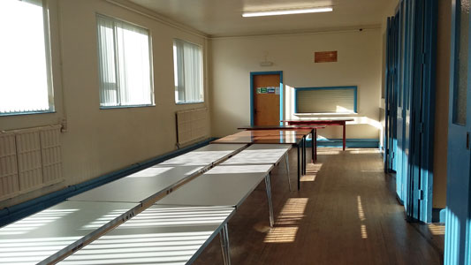Whetstone Memorial Hall - annexe attached to main hall